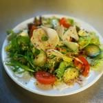 Leckerer Salat zum anbeißen
